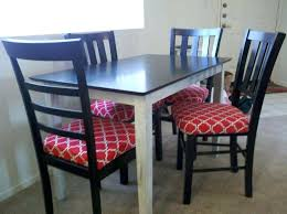 Dining Room Chair Pads Medium Images Of Custom Cushions For