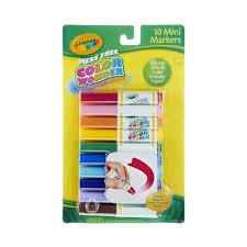 Crayola Bathtub Fingerpaint Soap Set by Crayola Mess Free Color Wonder Mini Markers 10 0 Ct Walmart Com