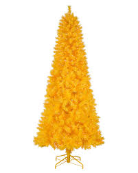 4 Ft Pre Lit Potted Christmas Tree by Yellow Orange And Brown Artificial Christmas Trees Treetopia
