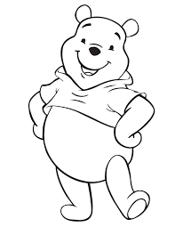 Winnie The Pooh Colouring In Pages To Print