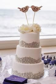 Rustic Vintage Wedding Cake Toppers