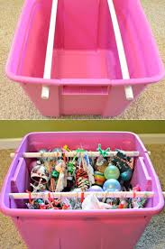 Christmas Tree Storage Bin By Iris by Best 25 Ornament Storage Ideas On Pinterest Christmas Storage