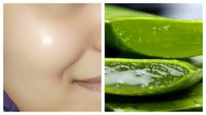 How to clear glowing spotless skin by using aloe Vera gel