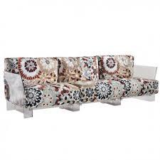 kartell canapé le canapé de piero lissoni est un nid douillet idéal pour une