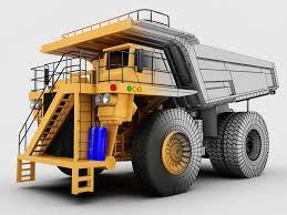100 Haul Truck Komatsu Style 830E By DeVangiel 3D CGSociety