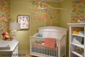origami chambre bébé 10 tendances en matière de décoration de chambre de bébé ou d