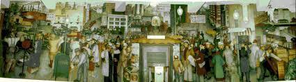 Coit Tower Murals Wpa by New Deal Art