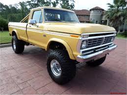 100 4x4 Trucks For Sale In Texas 1974 D F250 Custom 4X4 Pickup For ClassicCarscom CC922179