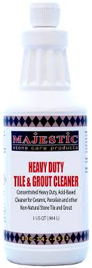 majestic heavy duty tile grout cleaner acid based