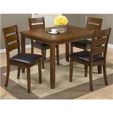 Jofran Plantation 5 Pack Table With 4 Chairs