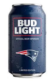 Bud Light New England Patriots NFL Team Can Price & Reviews