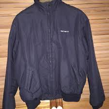 100 Carhart On Sale T Bomber Jacket For Sale Label Says L But Depop