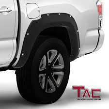 100 Truck Fender Amazoncom TAC Flares Cover Fit 20162019 Toyota Tacoma