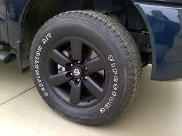 Stock Goodyear Wrangler SRA's In A E-rated Tire? - Nissan Titan Forum