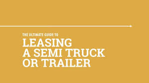Leasing A Semi Truck Or Trailer - YouTube 2018 Volvo Vnl 780 Ishift Semi Truck Virtual Tour Youtube Natural Gas Semitrucks Like This Commercial Rental Unit From Leasing By Taycor Financial Equipment Trucking Trucks Pinterest Trucks And Lrm With No Credit Check Fancing New Owner Operators 3 Key Benefits Graff Center Of Flint Saginaw Michigan Sales Commercial For Sale In Pa Nj De Md Bergeys Centers Rental Paclease The Future Freight Selfdriving Penn Bad Credit