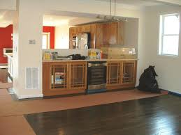Kitchen Soffit Removal Ideas by Kitchen Renovations After Removing Wall Removing Studs From A