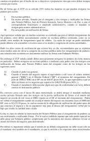 Cuanto Dura Un Poder Notarial Notario Francisco Rosales
