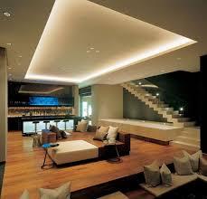 indirekte led beleuchtung wohnzimmer bar lichteffekte