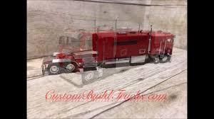 Custom Model Cabover K100 With Big Sleeper - YouTube