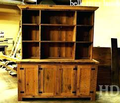 Reclaimed Wood Hutch Custom In Belle River Blog Wisteria