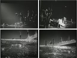 Titanic Sinking Animation Pitch Black by Matte Shot A Tribute To Golden Era Special Fx The Tale Of Two
