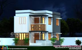 100 House Contemporary Design Modern Contemporary Design Flat Roof Construction Kerala Home