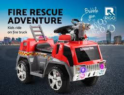 100 Fire Truck Red Details About Rigo Kids Ride On Car Motorcycle Toys Cars Electric Engine Motorbike