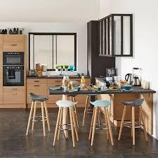 cuisine composer cuisine le bois s invite dans la cuisine dans la déco ou l