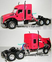 100 Toy Kenworth Trucks DCP 4008cab T880 W52 Raised Roof Sleeper