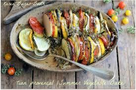 provencal cuisine tian provençal summer vegetable gratin lavender and lovage