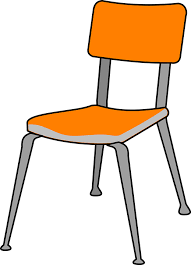 Chair Plastic Furniture Isolated Contemporary
