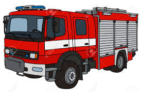 100 Fire Truck Drawing Hand Of A Truck Royalty Free Cliparts Vectors And