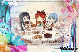 Friends Anime Time Lunch