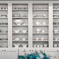 Great Open China Cabinet Built In Design Idea Hutch Shelf With Top Hearth Faced