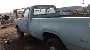 100 1972 Dodge Truck Junkyard Find D200 Custom Sweptline The Truth About Cars