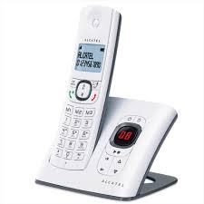 téléphone fixe sans fil avec répondeur alcatel f580 orange