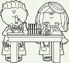 Kids Playing On Playground Clipart Black And White Collection School Clip Art Clipartpost In Science Class Vector Image
