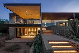 100 Japanese Modern House Design Patterned Brick Walls Define This Arizona Home By A I R Architects