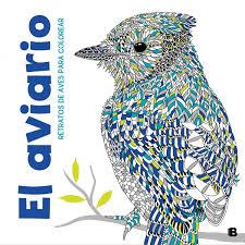 Amazonfr El Aviario Retratos De Aves Para Colorear
