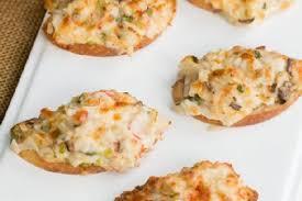 crab canapes crab canapés