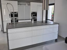 cuisine plan de travail gris plan travail cuisine granit gris idée de modèle de cuisine