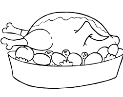 Chicken Food Coloring Page Becuo