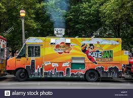 Chicago, The Famed Chicago Food Trucks Stock Photo: 161095439 - Alamy