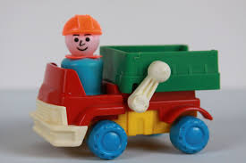 100 Little People Dump Truck Reserved For Dathalinn Vintage Fisher Price Figure