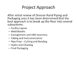 Dresser Rand Olean Ny Human Resources by Project Information Project Name Process Improvement Project Ppt