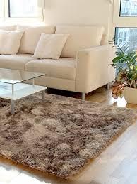benuta shaggy hochflor teppich whisper läufer hellbraun 80x300 cm langflor teppich für schlafzimmer und wohnzimmer