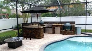 Outdoor Kitchen Pictures Projects Ideas With Big Green Egg