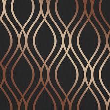 Metallic Tile Effect Wallpaper by Blown Vinyl Wallpaper Wallpaper