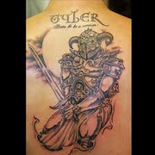 Celtic Warrior Tattoos Are Popular With People Of Irish Scottish Or Welsh Descent As Well Lovers Mythology And Ancient Lore