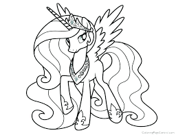 My Little Pony Princess Twilight Sparkle Coloring Pages Page Cadence